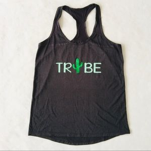 Xersion   @ Tribe Cactus Workout Racer Back Tank S